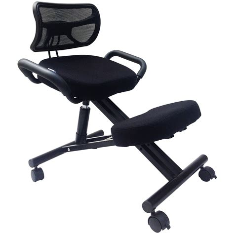 ergonomic kneeling desk the sc 300b ergonomic kneeling chair is built to support
