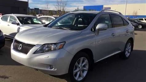 silver lexus rx 350 lexus certified pre owned silver 2012 rx 350 awd touring