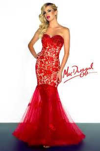 How to shine in your red mermaid dress fashion gown