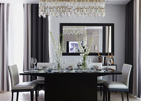 black dining room 25 elegant and exquisite gray dining room ideas
