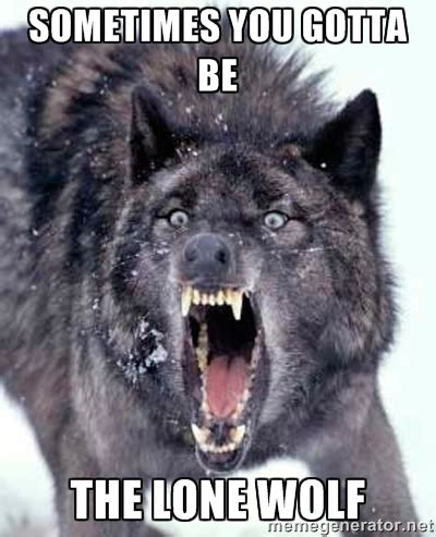 Lone Wolf Meme - lone memes image memes at relatably com