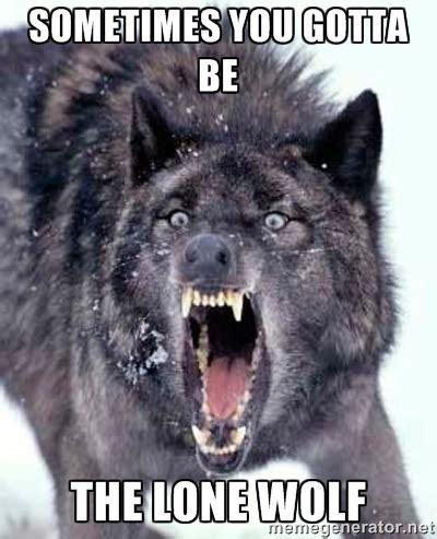 Meme Generator Wolf - lone memes image memes at relatably com