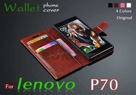 Lenovo P70 P 70 Wallet Leather Flip Cover Casing Dompet Sarung aliexpress buy high quality flip leather cover