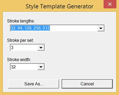 box template generator drawing strokes for a style library sketchup knowledge base
