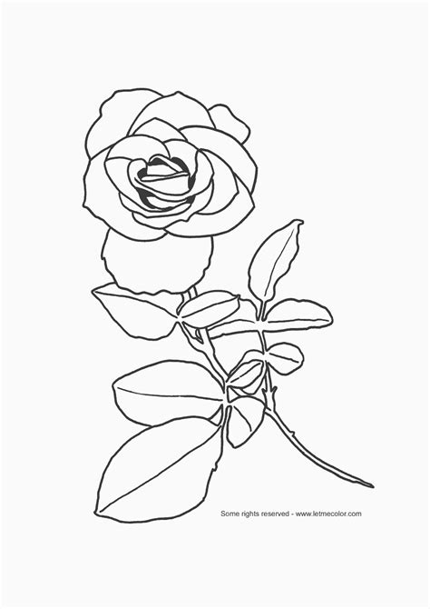 full page christmas coloring pages for kids flower