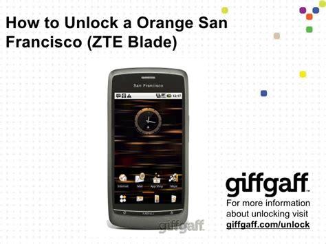 unlock pattern zte blade unlock orange san francisco zte blade free