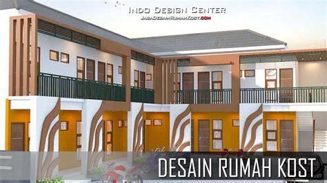 desain rumah kost  lantai sederhana jasa desain kost