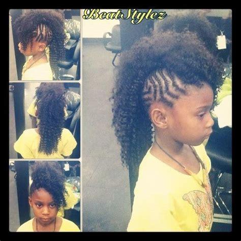 braided mohawk hairstyles for kids kids braided mohawk hairlife pinterest braided