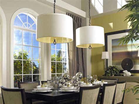 neutral transitional dining room hgtv