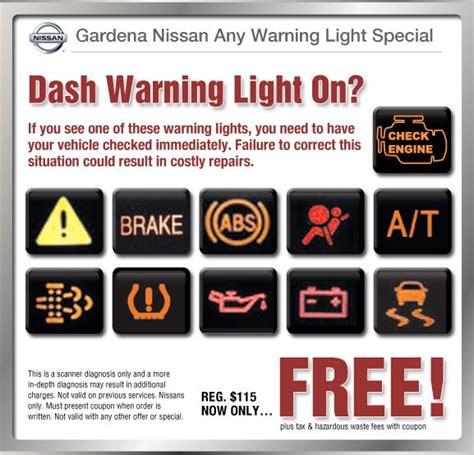 2013 nissan rogue warning lights warning lights in nissan rogue