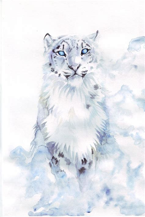 snow leopard tattoo the 25 best snow leopard drawing ideas on