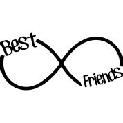 best friends infinity sign best friends infinity hoodie spreadshirt