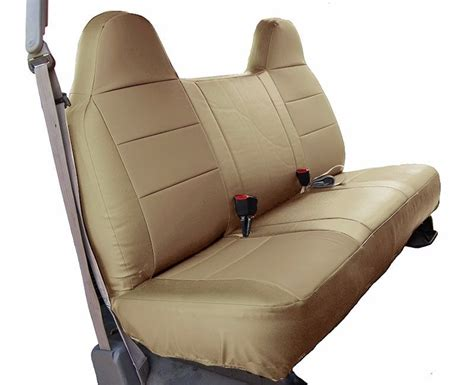 2003 ford f150 bench seat covers ford f 150 beige iggee s leather custom fit bench front