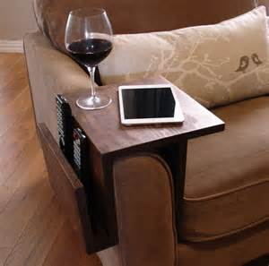 Table Arm Chair Design Ideas Simply Awesome Sofa Arm Rest Wrap Tray Table With Side