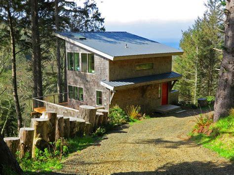 oregon coast cabin rental green flash cabin oregon coast heaven homeaway neskowin