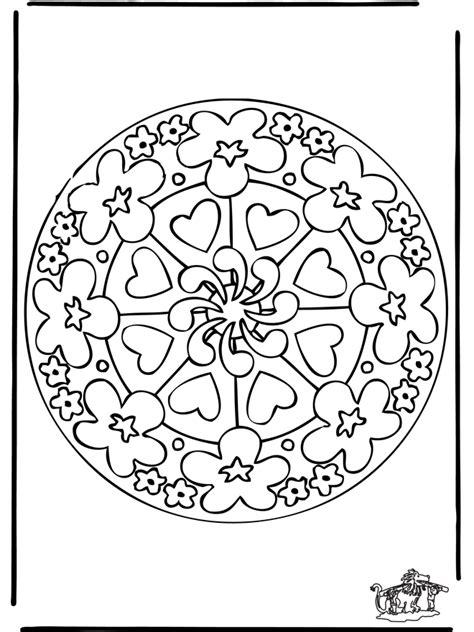 mandala coloring pages hearts free coloring pages of mandalas