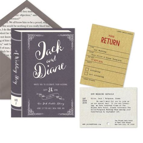Introducing Our Downloadable Invites by Best 25 Vintage Library Ideas On