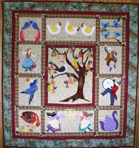 12 Days Of Quilt Pattern by Pin By Mona Houle On Mona S Quilts