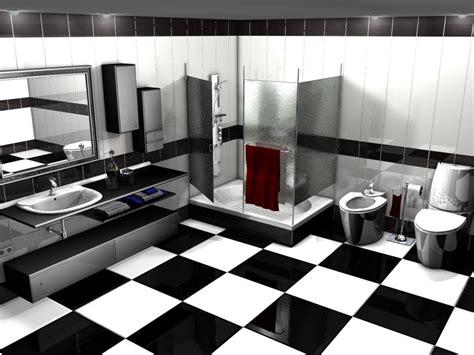 imagenes baños blanco y negro cuarto de ba 241 o blanco y negro decoreforma2000
