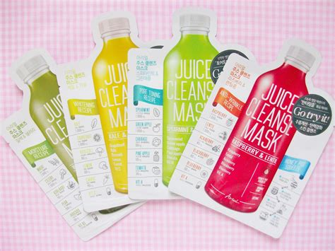 Juice Detox Cleanse Reviews by Mooeyandfriends Ariul Juice Cleanse Masks Review