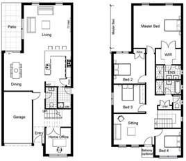 home design floor plans best 25 two storey house plans ideas on 2
