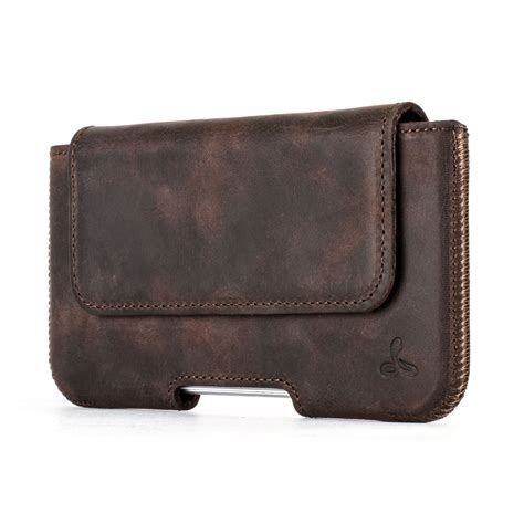 Leather For Iphone 3 snakehive 174 real leather belt pouch holder for apple iphone 7 ebay