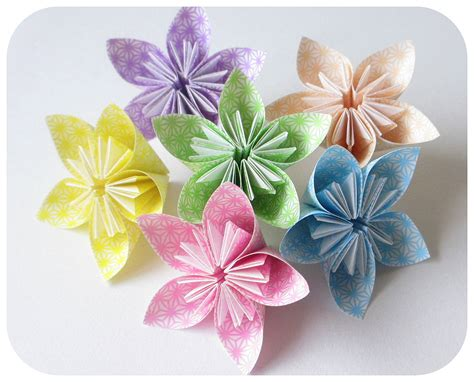 Flores Origami - flores de papel japon 233 s origami productos de papel
