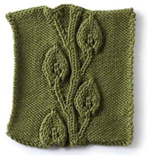 leaf pattern vine embossed vine and leaves pattern knitting for dummies
