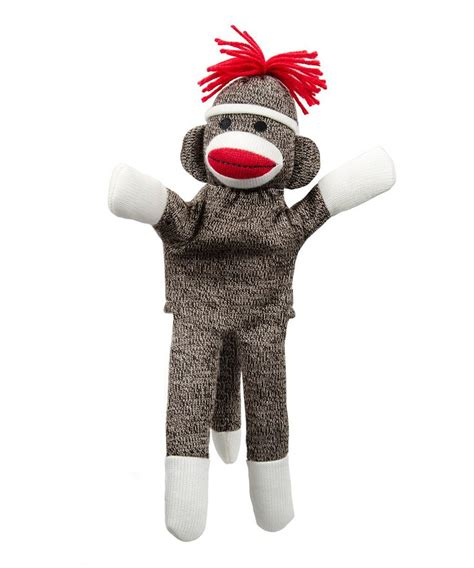 sock monkey puppet for roxanna