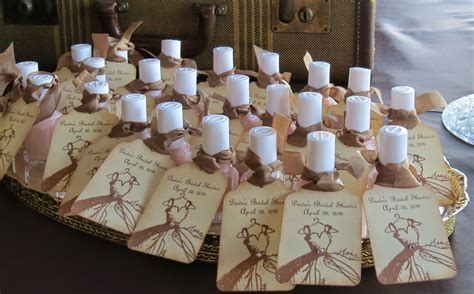cheap and unique bridal shower favors ideas marina gallery - Summer Themed Bridal Shower Favors