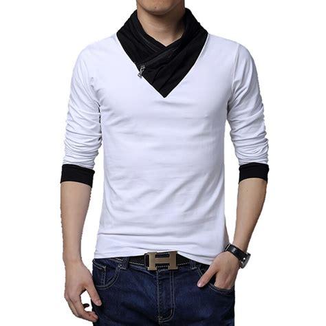 Big Size 3xl 4xl Kaos T Shirt Baju Band Musik Koes Plus 2016 new fashion brand irregular collar slim fit