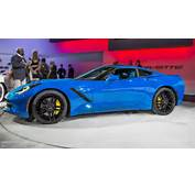 2014 Corvette C7 Stingray Looks Great In Blue  Autoevolution