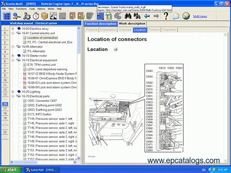 scania multi 2015 parts and repair documentation repair