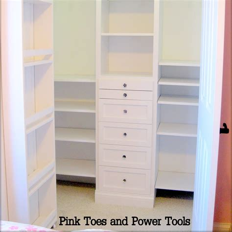 White Closet Organizer White Closet Organizer Diy Projects