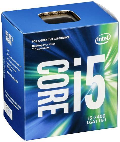 Intel I5 7600 3 5ghz Cache 6mb Box Socket Lga Berkualitas new intel i5 7400 kaby lake 4 processor 3ghz 3 5ghz max bx80677i57400 ebay