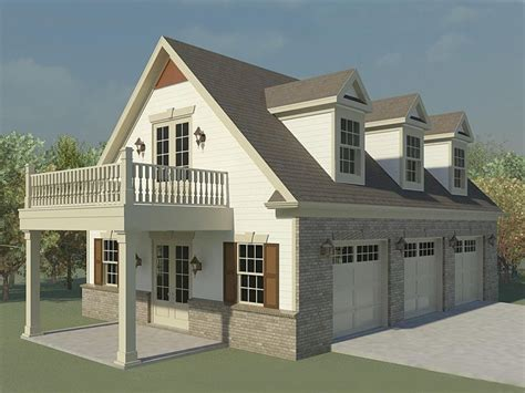 Building Plans For Garage With Loft by Three Car Garage Plans With Loft 3 Car Garage With Loft