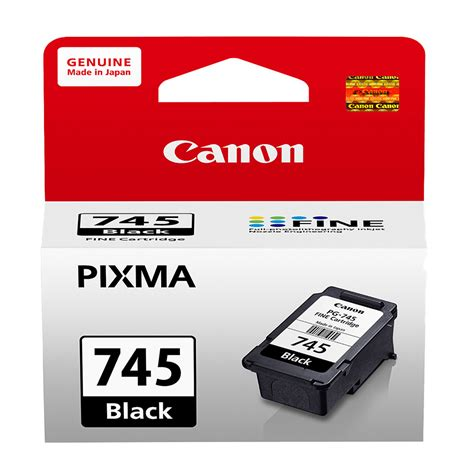 Tinta Canon Cartridge Pg 745 Tinta Black Original Dealer Resmi Can ink cartridge canon pixma 745 black original ink advantage cartridge best store