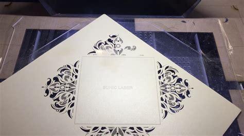 Wedding Card Laser Cutting Machine