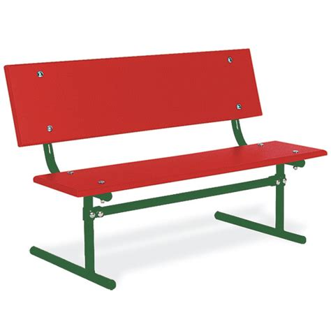 park bench size ultraplay kid s size park bench 257 outdoor benches