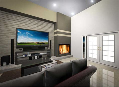 modern corner gas fireplace contemporary tv room plans with corner gas fireplace