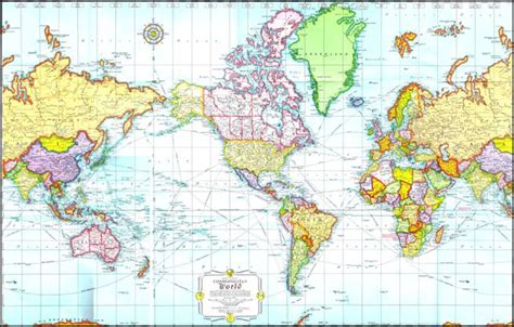 usa map of the world mercator projection world map