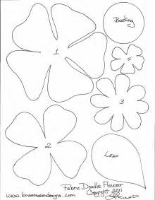 Free Flower Template Printable by 7 Best Images Of Paper Printable Poppy Flower Pattern