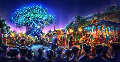themes kingdom new concept art for avatar at disney s animal kingdom