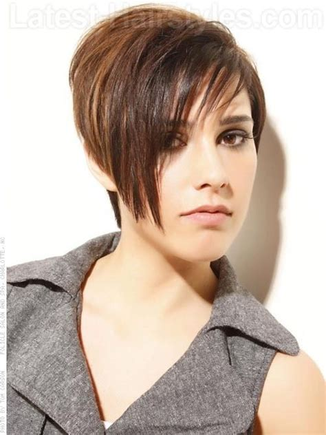 short tomboy hairstyles modern tomboy short tousled look with bangs great