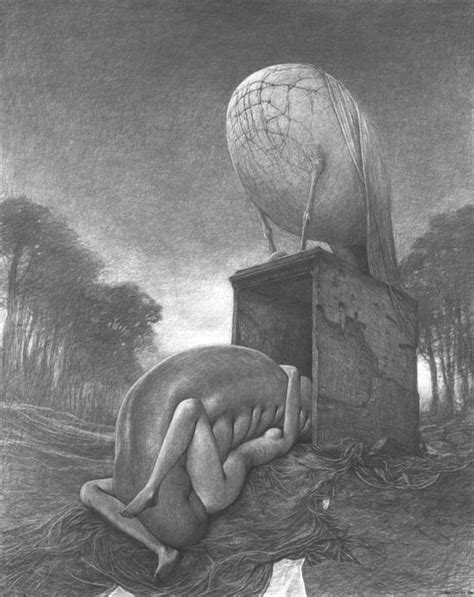 Dissolving Skin and Decaying Bone... Zdzisław Beksiński