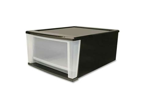 Large Stackable Drawers by Iris Sd 40 Large Stacking Drawer Jet