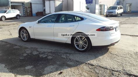 Tesla S Performance Specs 2012 Tesla Model S Performance Car Photo And Specs