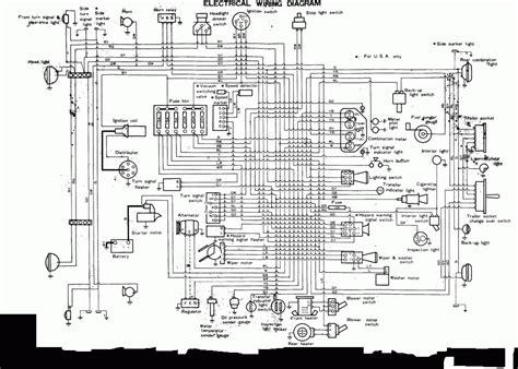 1984 toyota land cruiser wiring diagram new wiring