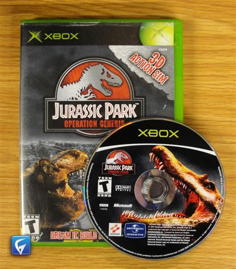 jurassic park operation genesis xbox for sale jurassic park operation genesis disc manual