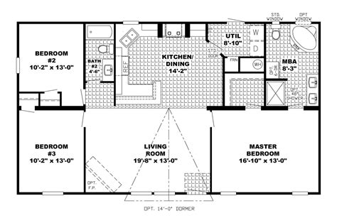Free Ranch House Plans Floor Plans Ranch Style Homes Home House Bedrooms Plan